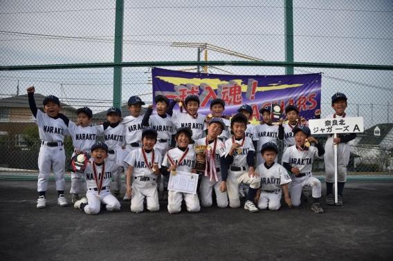 ティーボールTA 青葉区ルーキーズカップ優勝!